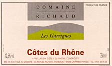 photo Domaine Richaud Cotes du Rhone Les Garrigues