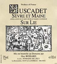 Domaine Guindon Muscadet de Sevre-et-Maine Cuvee Prestige