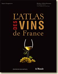 Couverture L'Atlas des vins de France de Laure Gasparotto