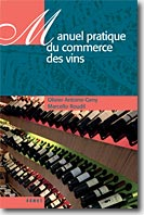 Couverture Manuel pratique du commerce du vin de Marcello Roudil