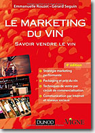 Couverture Le marketing du vin de Emmanuelle Rouzet et Gérard Seguin