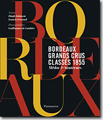 Couverture Grands crus classés de Bordeaux de Franck Ferrand et Hugh Johnson